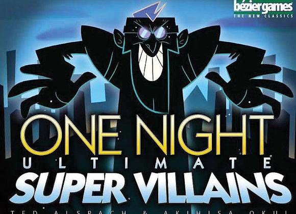 One Night: Ultimate Super Villain