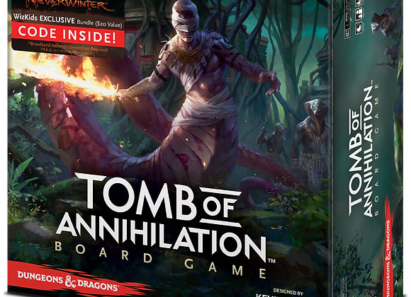 Dungeons & Dragons: Tomb of Annihilation Board Game