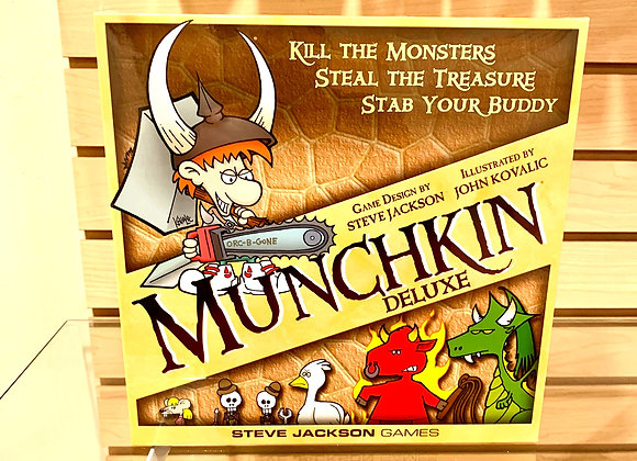 Munchkin: Munchkin Deluxe