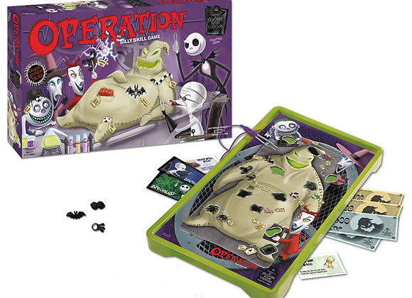 The Nightmare Before Christmas Operation Collector`s Edition