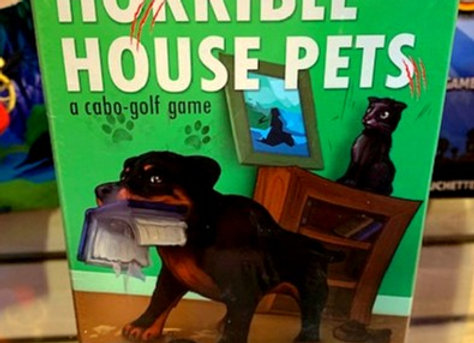 Horrible House Pets Card Game