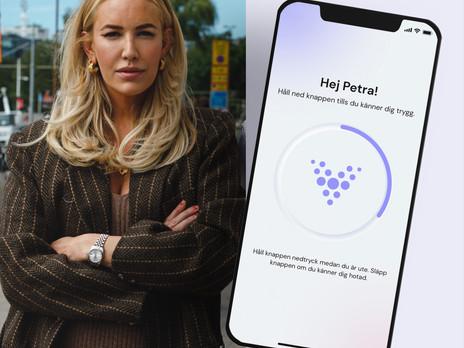 Efter knivrånet - Petra Tungården engagerar sig i Vakta
