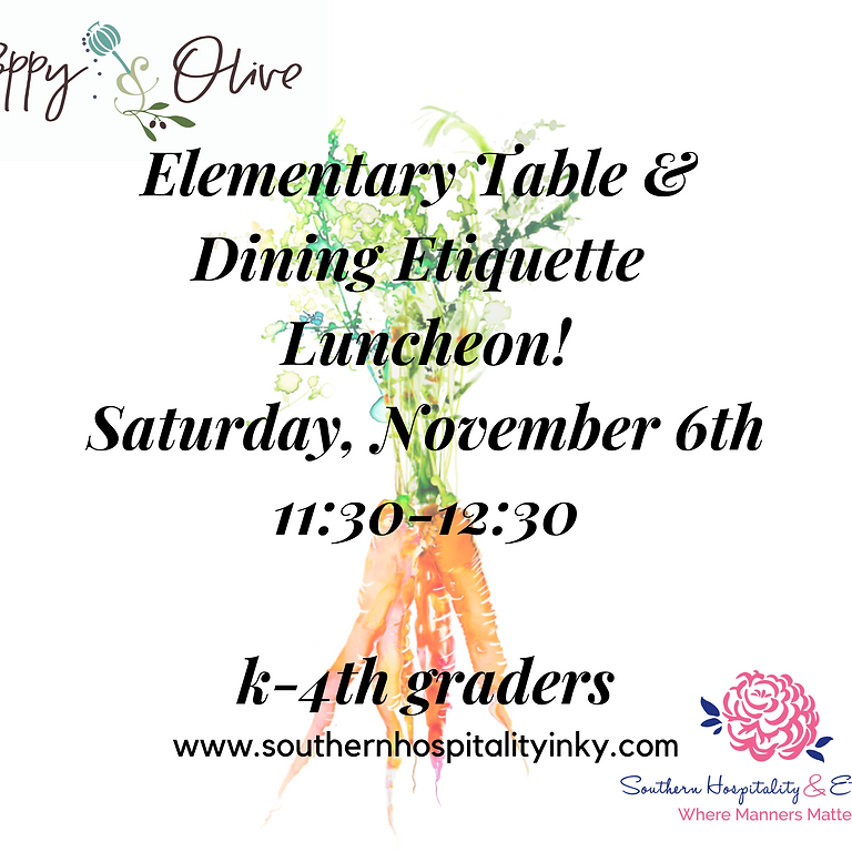 Elementary Table & Dining Class