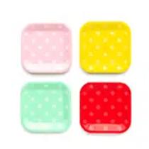 Basic Polk a dot plates