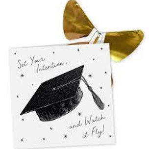 Graduation Day Card with Magic Butterfly