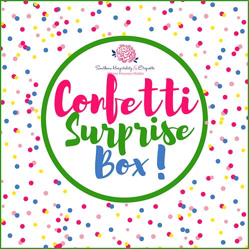 Children's Confetti Surprise Box