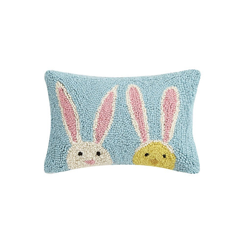Bunny Duo hook Pillow
