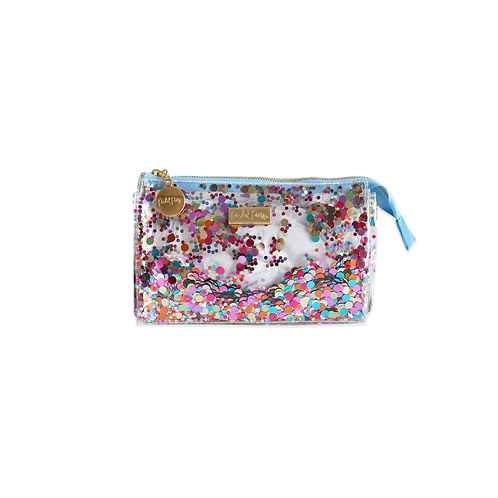 Packed Party Mulit Confetti Mini Cosmetic Bag