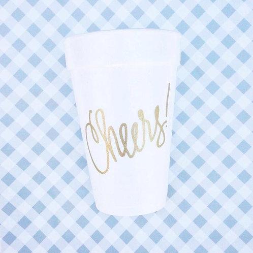 Foam Cup- Cheers