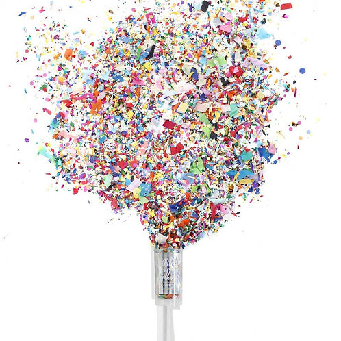 Confetti Push Pop - Happy Birthday!