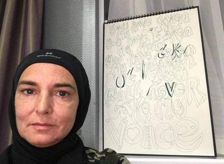 Sinead O'Connor Owns Catholics by Converting to Islam