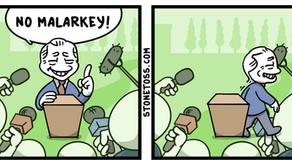New StoneToss Comic - Malarkey