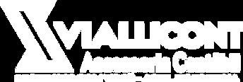 Nova Logo da VialliCont - Branco