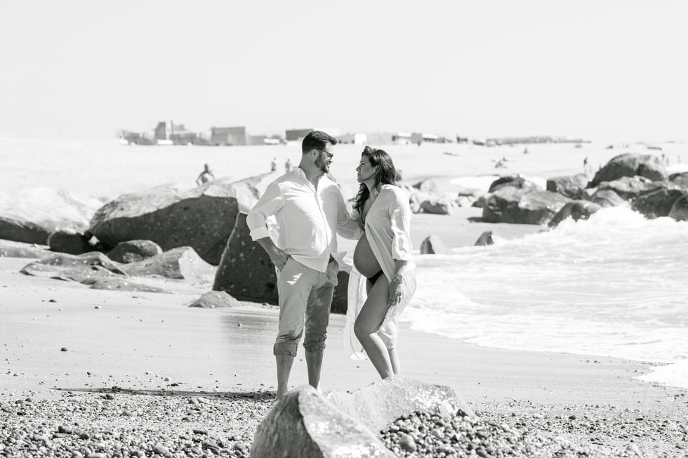 Fotografia Gravidez na Praia