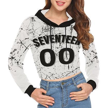 Seventeen - Crop Hoodie