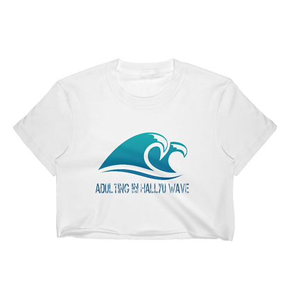 Adulting Wave - Crop Top