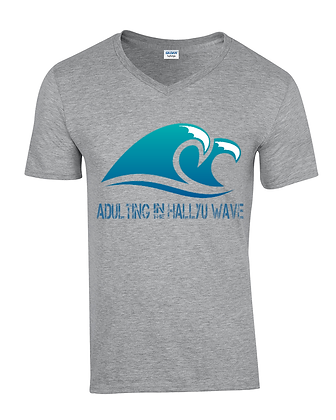 Adulting Wave - Mens V Neck