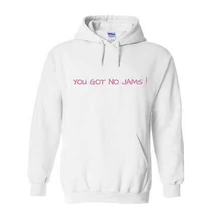 No Jams Pink-  Hoodie