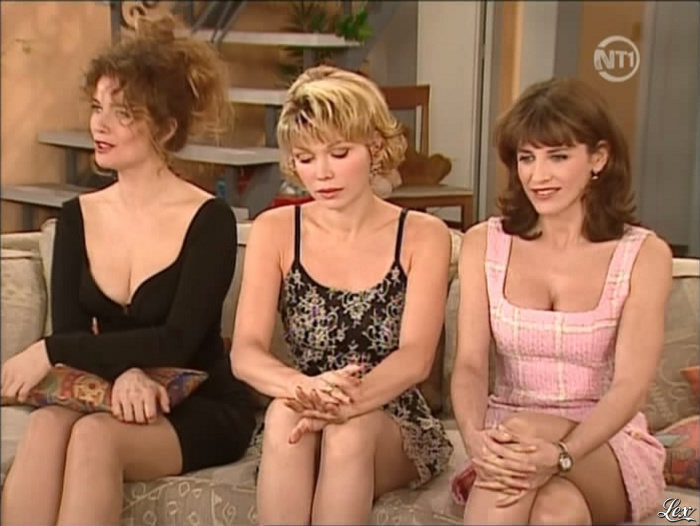 Patricia Elig aux cotés de Christiane Je