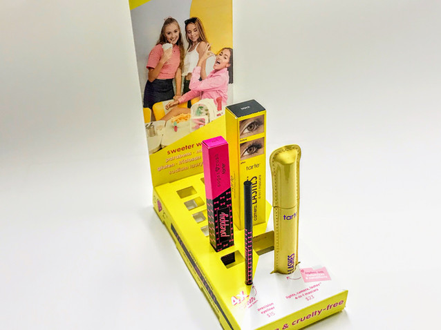 Paper Beauty Cashwrap Display