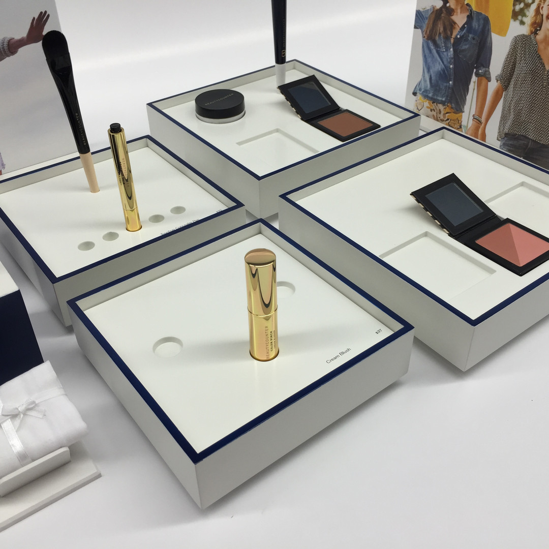 Sustainable Cosmetic Display