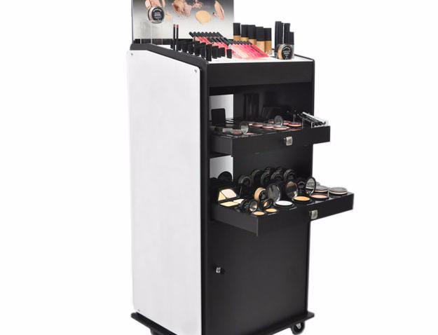 Custom Cosmetic Work Station Display