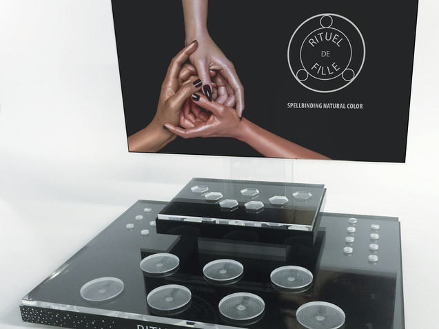 Cosmetic Counter-Top Display