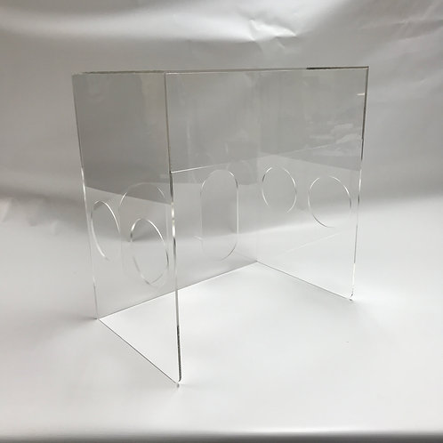 Plexiglass Intubation Box
