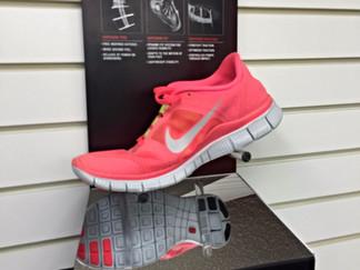 Slat Wall Shoe Display