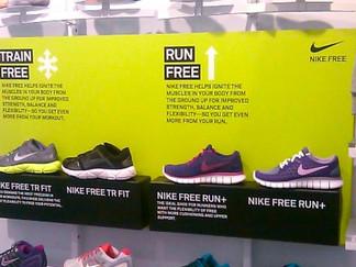 Shoe Shelf Display
