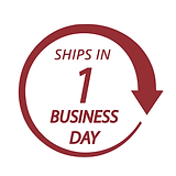Ships In 1 Business Day!