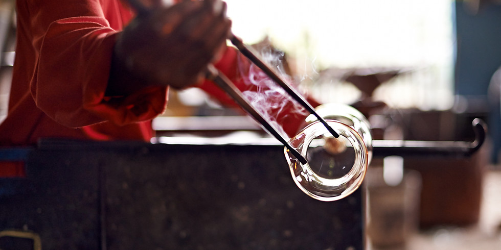 *** SOLD OUT*** Glass Blowing Sat Sept 7th