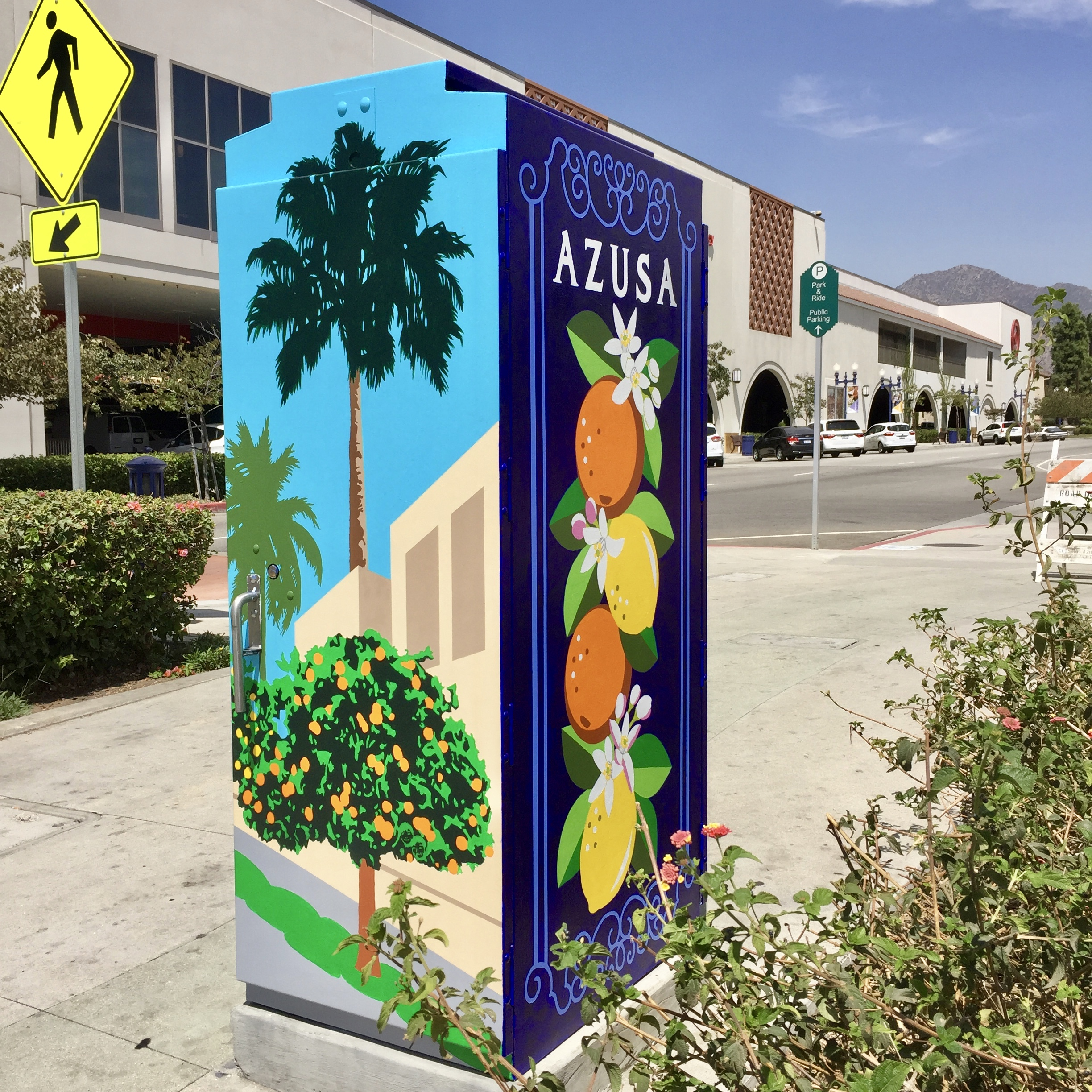 Iconic Azusa, Citrus, and Palm Trees