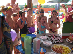 Lucy's Poolside Birthday Party
