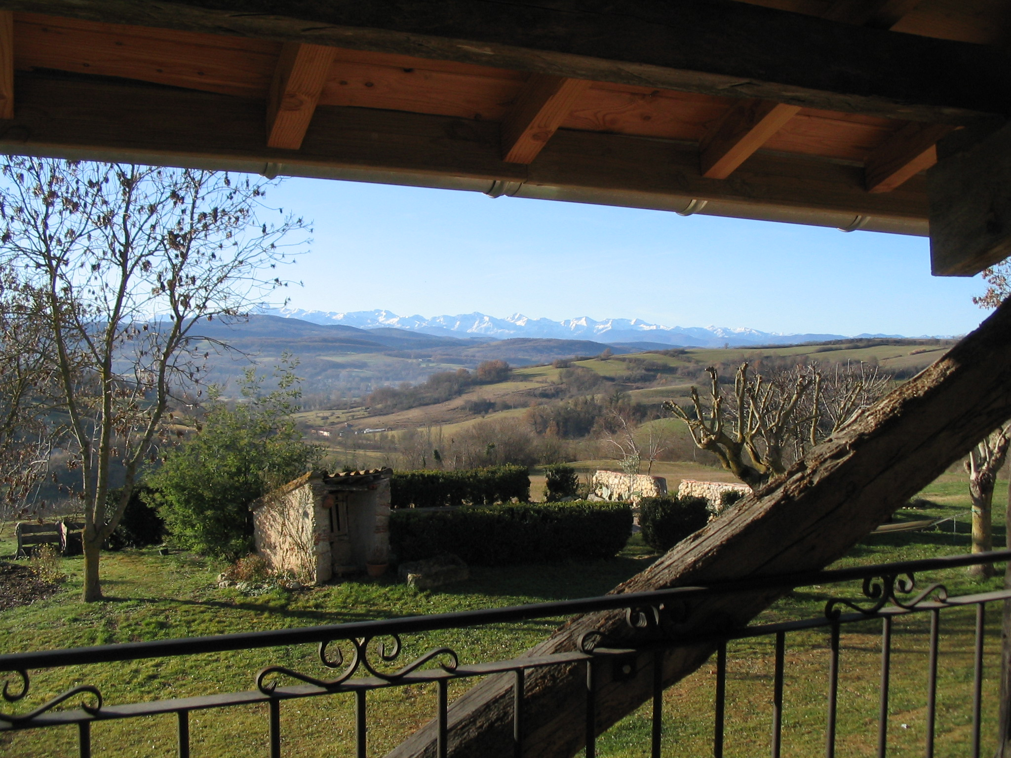 L'Ecurie - view from Bedroom Terrace