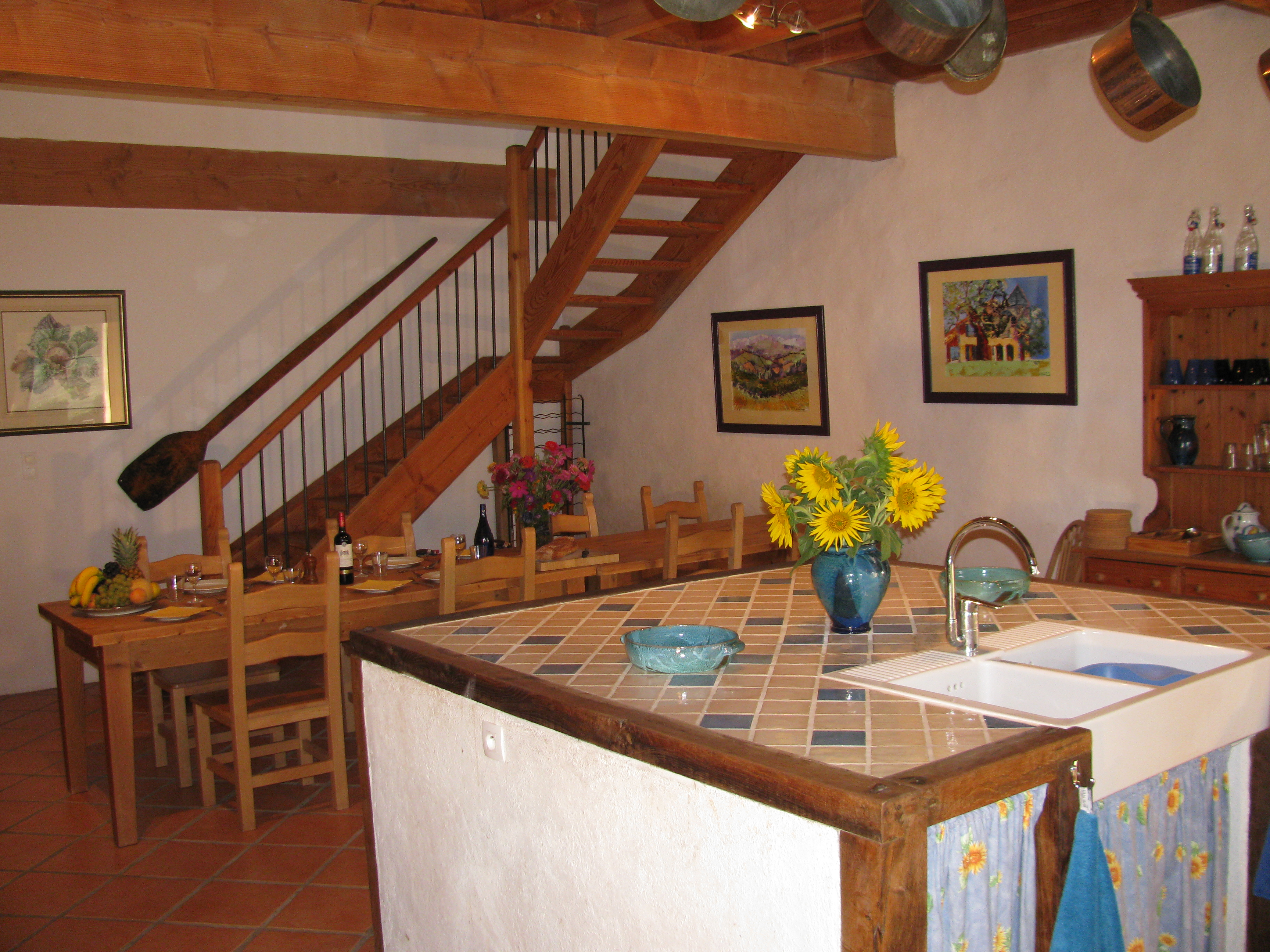 La Grange - Kitchen / Dining Area