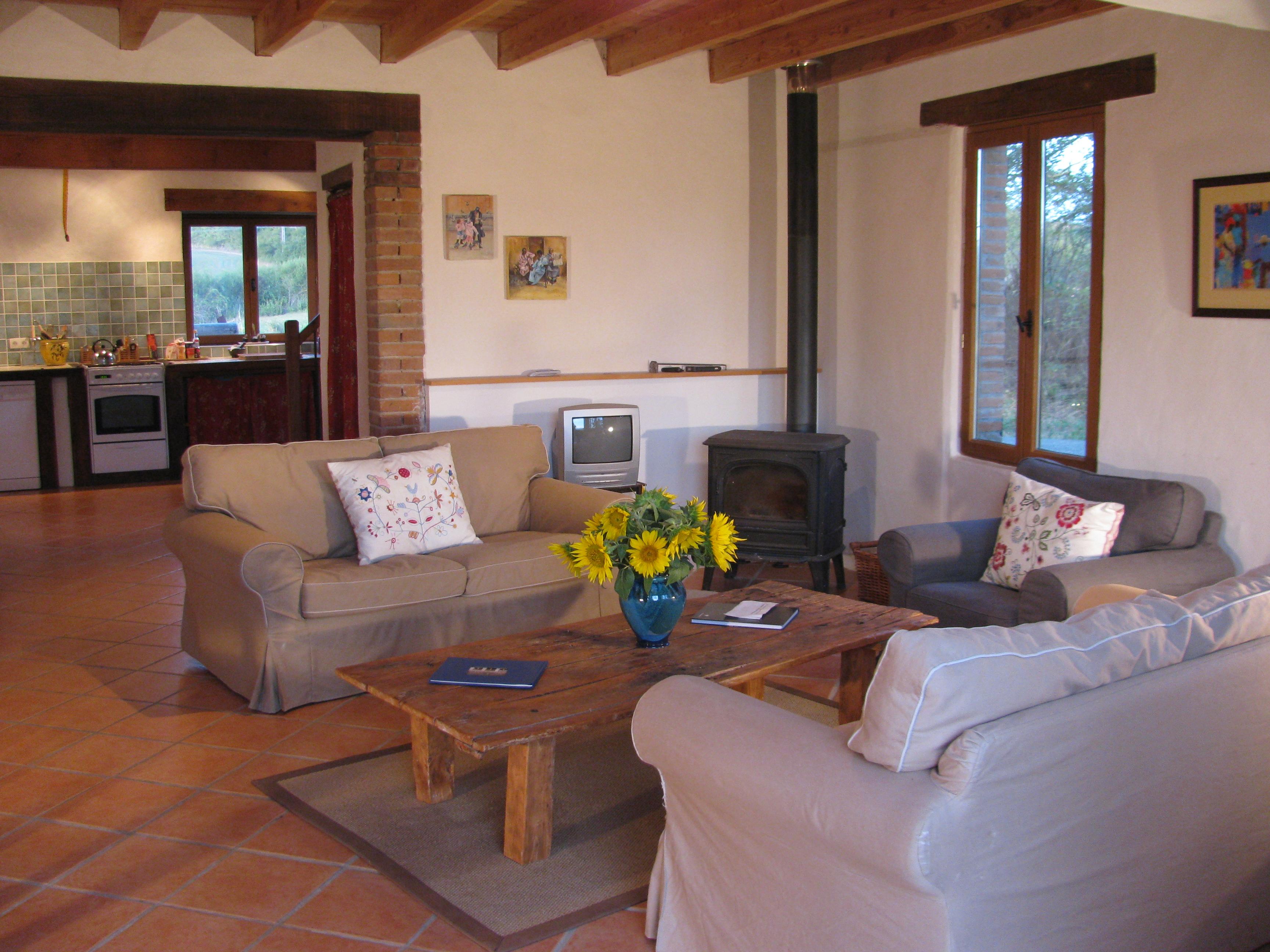 L'Ecurie - Sitting Room Area