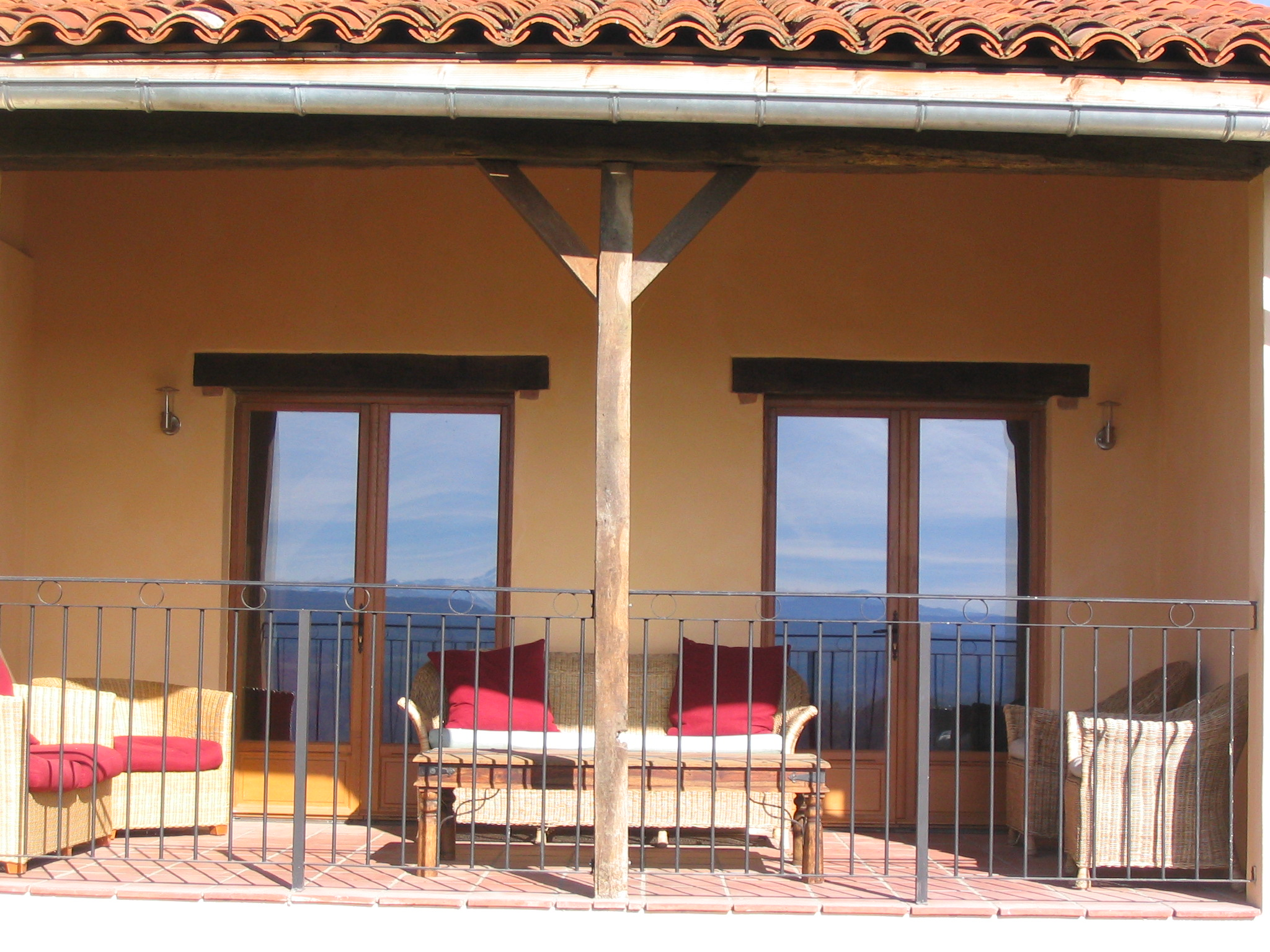 Upper Terrace of La Grange