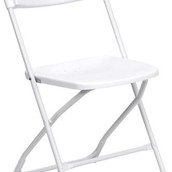 Samsonite White Folding Chair