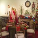 Santa-Throne