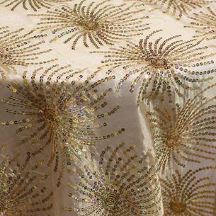 Sequin Starburst Gold