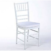 White Chiavari Dining Chair