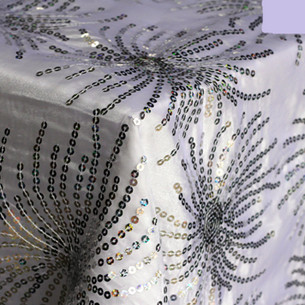 Sequin Starburst Silver2
