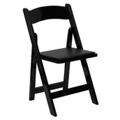 Wooden Black Folding Chair