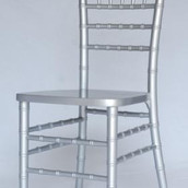 Silver Chiavari Dining Chair