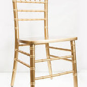 Gold Chiavari Dining Chair