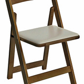 Wooden Walnut Folding Chair