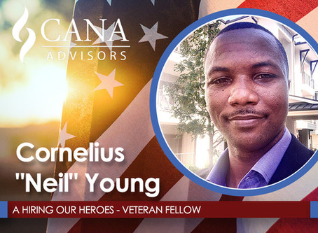 Welcome Our Newest Hiring our Heroes (HoH) Fellow, Neil Young!