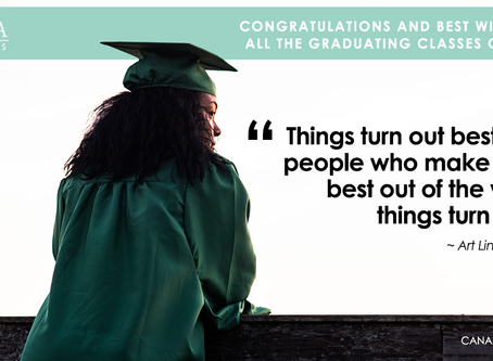 Congrats Graduates! What's Next?
