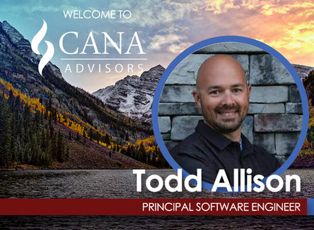 Welcome Our Newest Principal Software Developer, Todd Allison!